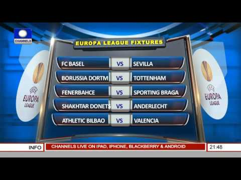 Sports tonight: examining the europa league fixtures