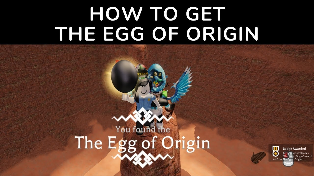 How To Get The Egg Of Origin Roblox Egg Hunt 2019 Youtube