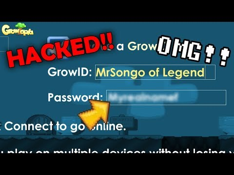 Growtopia Give My Password To Hiring Mod Free Gems Websites Hacked Youtube