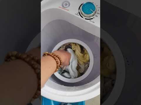 Hướng dẫn lắp đặt lồng vắt của Máy giặt mini bán tự động (P2)
