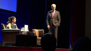 "Joe Biden on ""Promise Tour"" motivating the crowd to ""Get up"" and fight back"