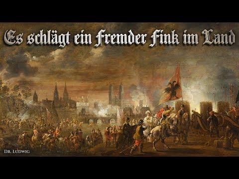 Es schlägt ein fremder Fink im Land [Landsknecht song][+English translation]