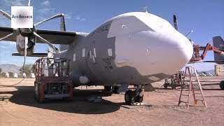 Air Force C-27J Spartan Planes Being Mothballed
