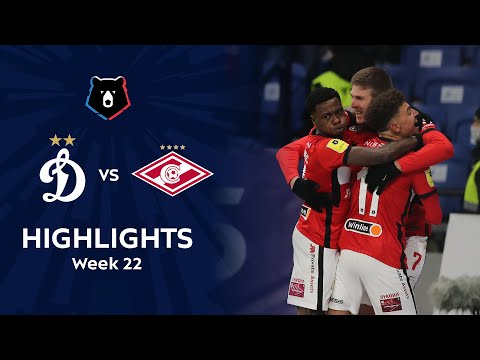 Dinamo Moscow Spartak Moscow Goals And Highlights