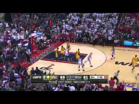 Indiana Pacers vs Washington Wizards Game 6 Highlights   NBA Playoffs 2014