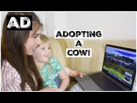 ADOPTING A COW?! WITH CADBURY & CHANNEL MUM! (AD) | KERRY CONWAY
