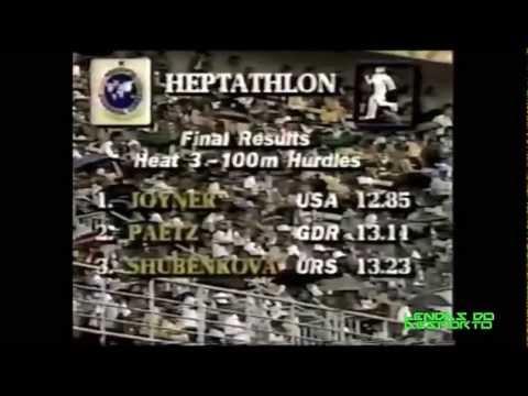 Jackie Joyner Kersee - Lenda do Heptatlo/ Heptathlon Legend
