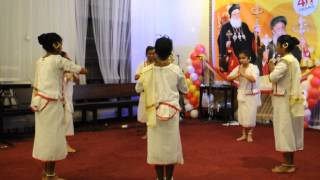 MargamKali Dance by Sunday School Students of George Universal Syrian Orthodox Reesh Church Kuwait.