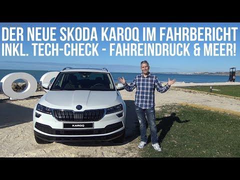 2018 Skoda Karoq Fahrbericht Test Review Infotainment Check Kofferraum Fahreindruck Voice over Cars