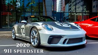 The 2020 Porsche 911 Speedster