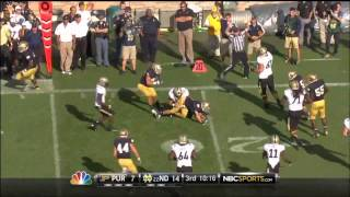 Notre Dame Football 2012 Highlights