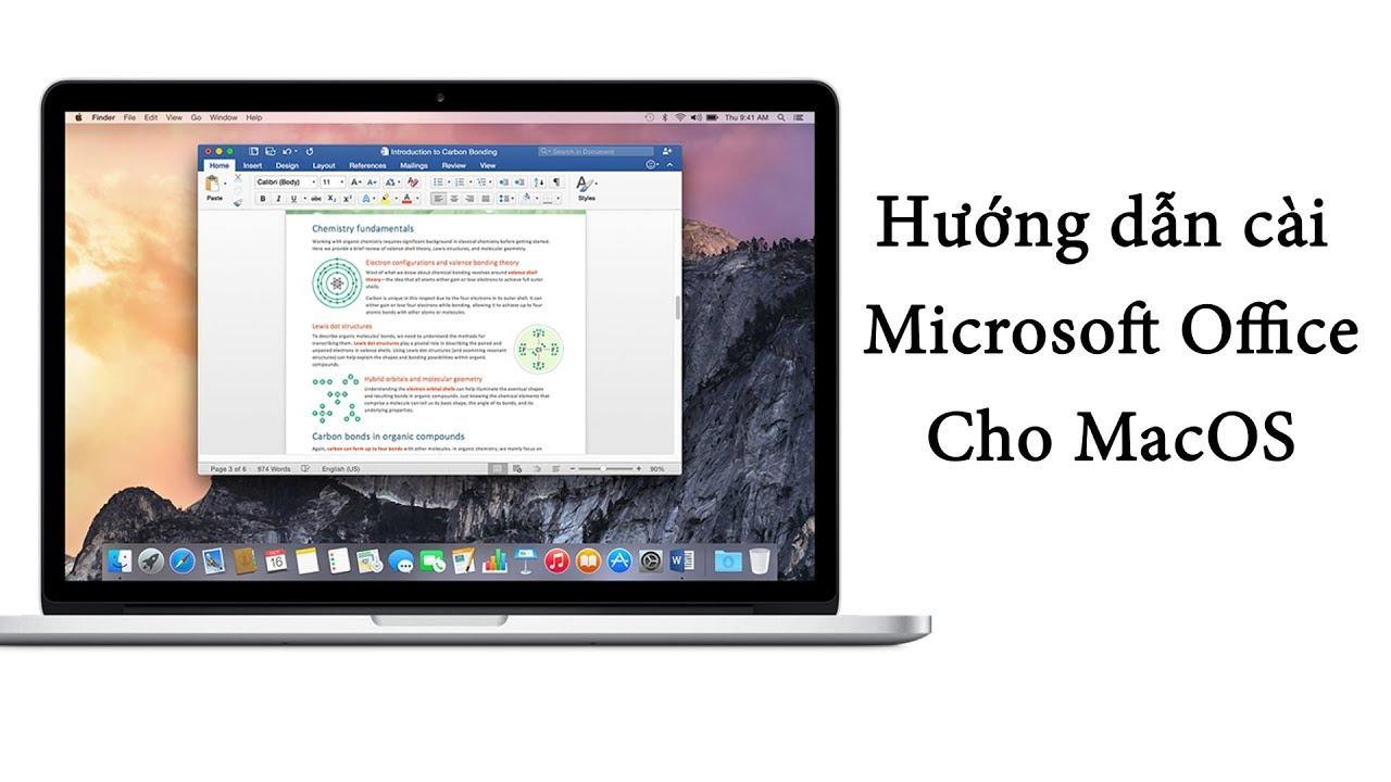 V Channel   Chia sẻ   Hướng dẫn   Cách cài Microsoft Office cho MacOS