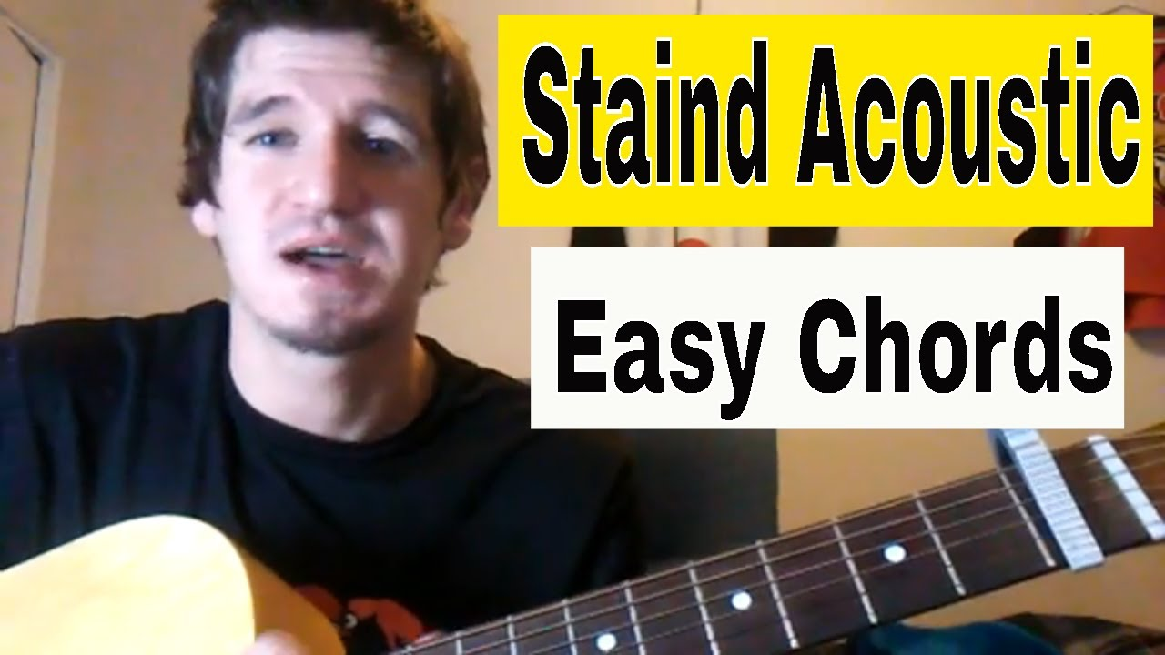 How To Play Its Been Awhile Staindaaron Lewis Easy Acoustic
