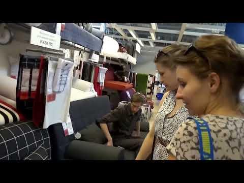 IKEA. Икея. Санкт-Петербург. Экскурсия с комментариями.