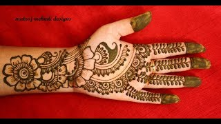 Dulhan Full Hands Mehndi Designs for hands |Haatho Ki Mehendi Designs |Matroj Mehndi Designs
