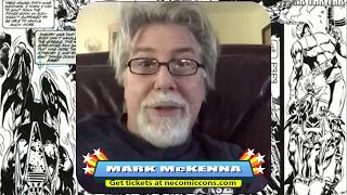 Comic Legend Mark McKenna Visits The NorthEast Comic Con November 2018