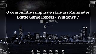 Skin Rainmeter Combination - Simple Game Rebels Edition