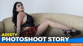 ADISTY di Behind the Scenes Photoshoot - Male Indonesia | Model Seksi Indo