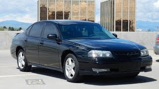 2004 Chevrolet Impala SS Supercharged Sedan for sale!