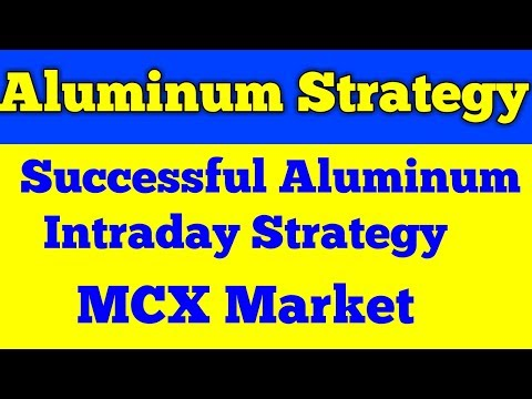 MCX Aluminum Trading Techniques best intraday trading strategy for small trader?