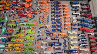 MY NERF COLLECTION!