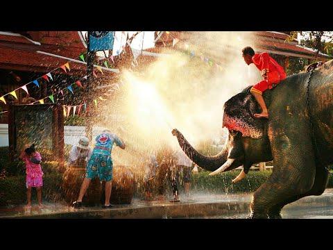 The Most Famous Festival in Thailand Calendar   Songkran Festival