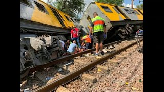 مقتل اثنين إثر تصادم قطارين في جنوب إفريقيا