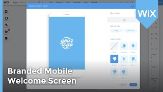Adding A Branded Mobile Welcome Screen in Wix | Wix Website Tutorial