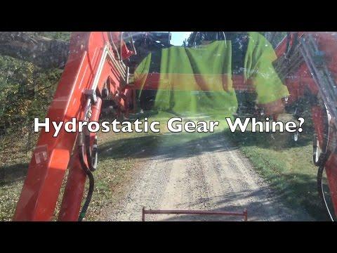 Hydrostatic Transmission HST Gear Whine