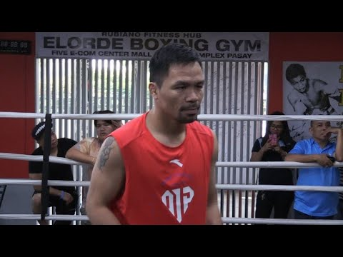 Pacquiao says Matthysse bout to be basis for retirement call
