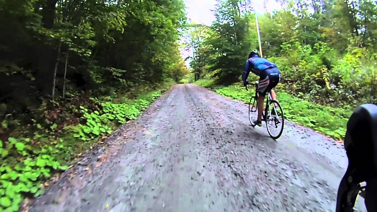 Vermont Dirt Road Ride Upper Valley Velo Cycling Sept 2012 Mov