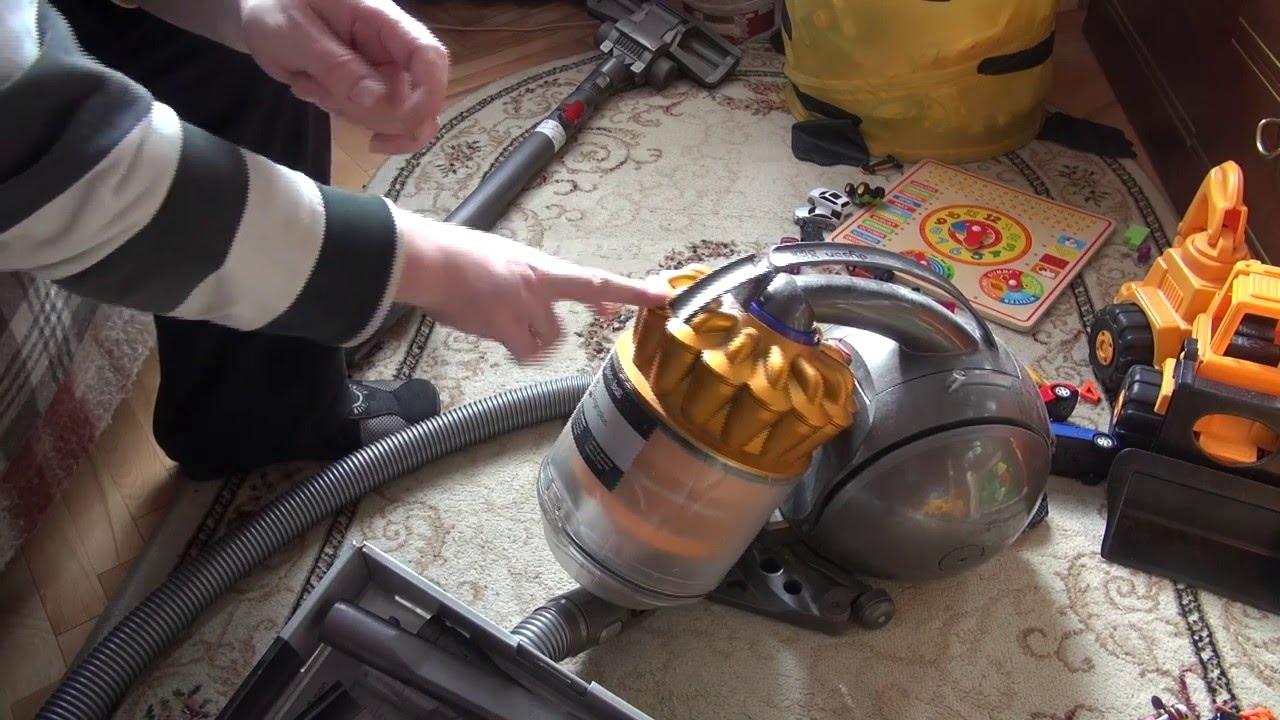 Как разобрать контейнер в пылесосе дайсон пылесос аккумуляторный дайсон
