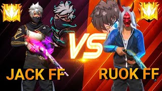 Freefire : OP JACK  ⚔️  RUOK FF  🇹🇭 VS 🇲🇦 | CRAZY GAMEPLAY 👽