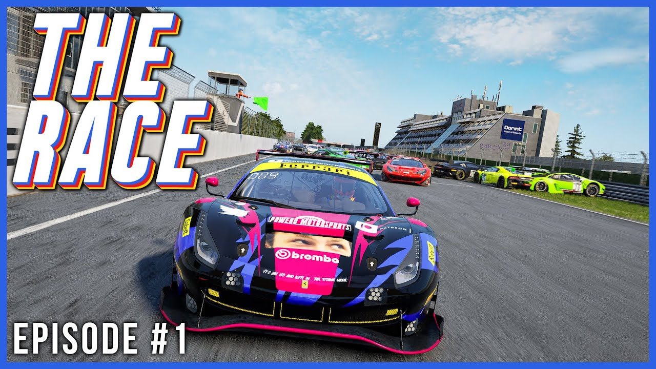 PowerQ: The Race Episode 1 – ACC online lobby racing