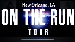 jay z and beyonce on the run tour new orleans hard knock life hd