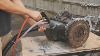 Pískovačka s odsáváním SB28 - renovace motoru
