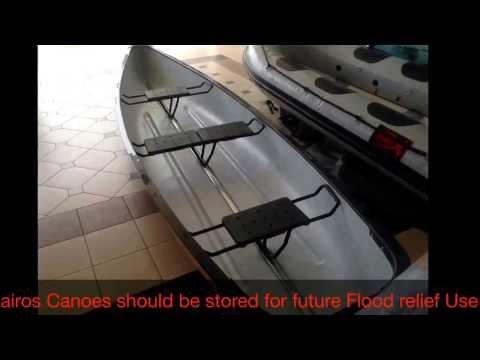 Canoe that is versatile by Kairos Watercraft