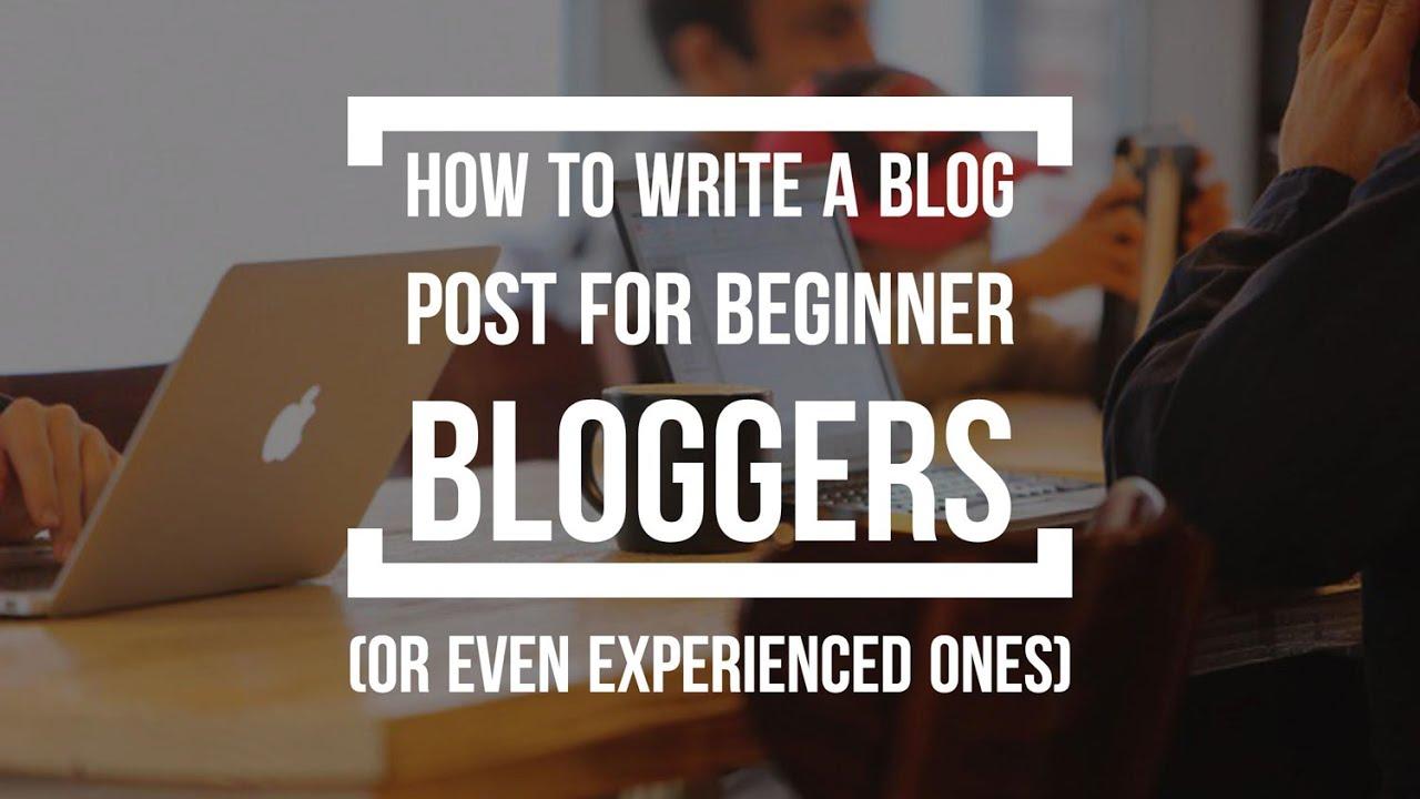 writes blogs for beginner