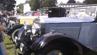 Rolls royce at raby castle car show