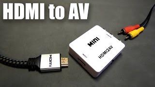 Обзор и тест конвертера HDMI to AV / HDMI2AV