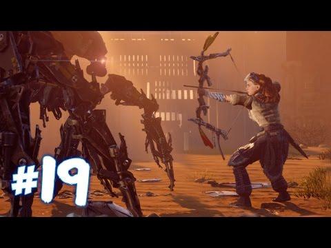 Robotic Arena Battle! - Horizon Zero Dawn Walkthrough | Part 19 (PS4) HD