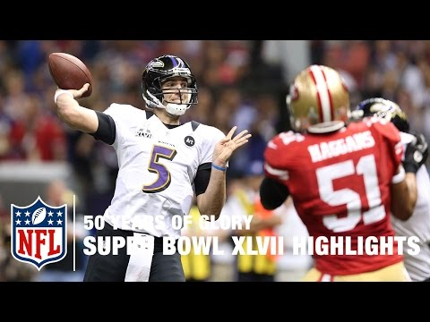 49ers vs. Ravens | Super Bowl XLVII Highlights | 50 Years Of Glory | NFL