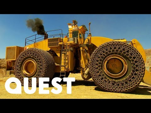 Driver Rips Massive Hole In Loader's $90K Steel Wheels | X-Machines