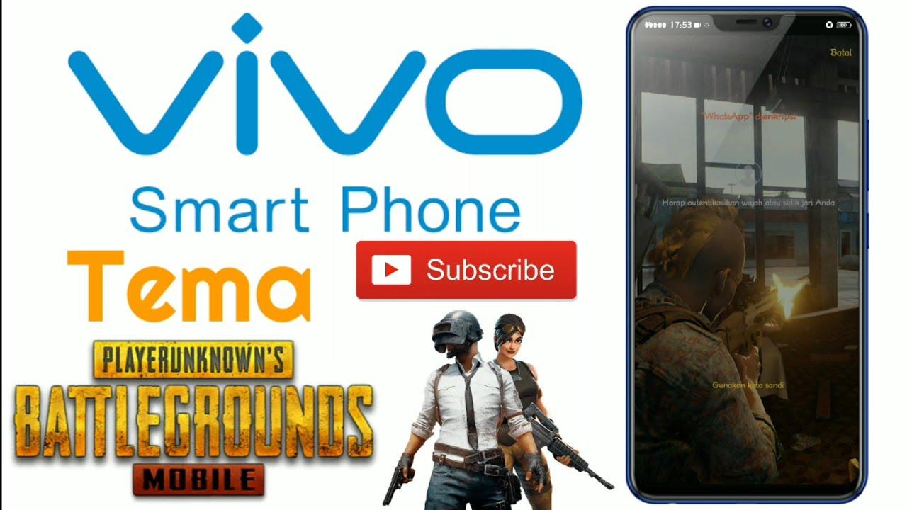 Tema Pubg Mobile Vivo V11 Pro Dan Vivo V9 Youtube