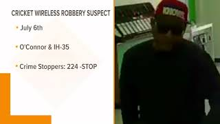Police seek cell phone store robber