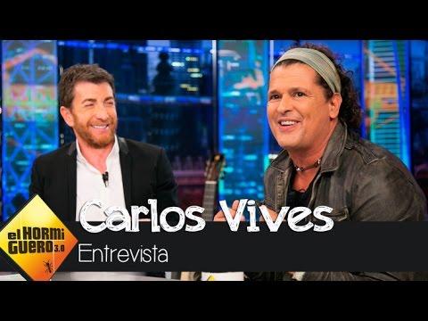 Carlos Vives presenta en El Hormiguero 30 su nuevo tema, Al filo de tu amor  El Hormiguero 30