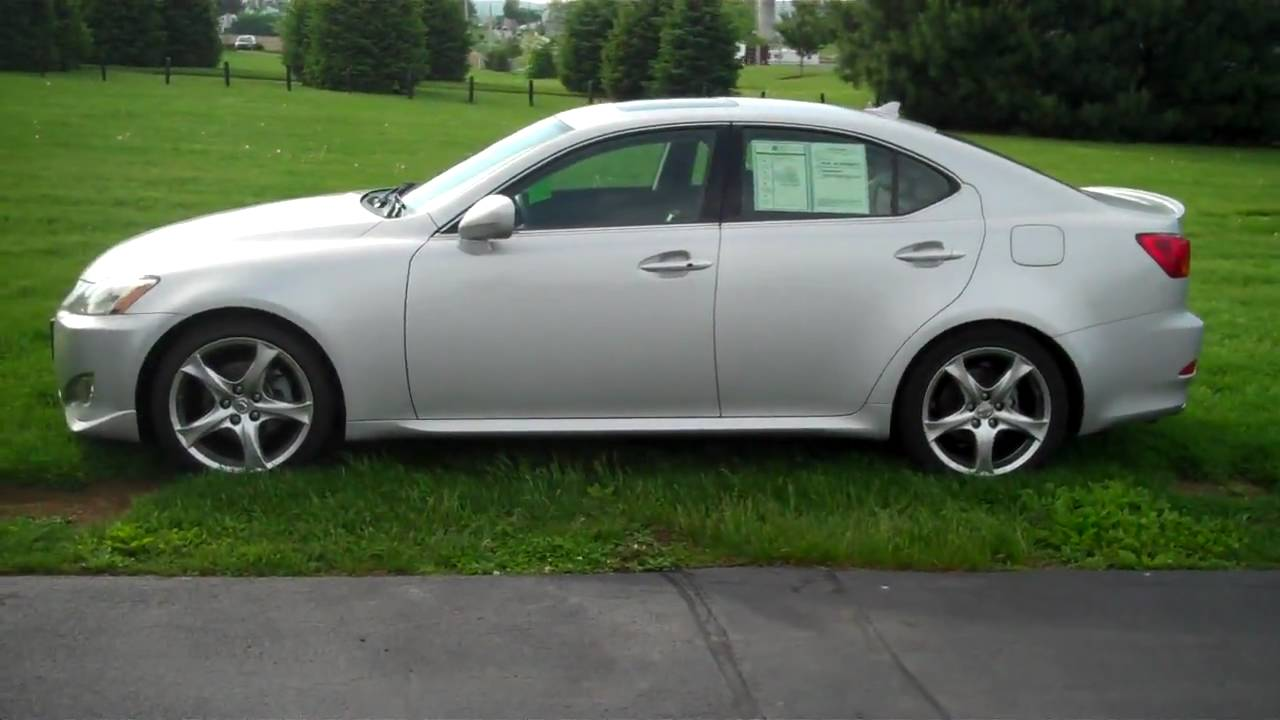 Amazing Lexus IS 250 6spd Manual