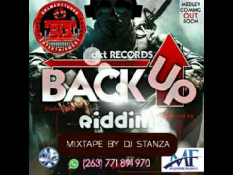 Back up riddim official mixtape by DJ Stanza_Mr Majestic