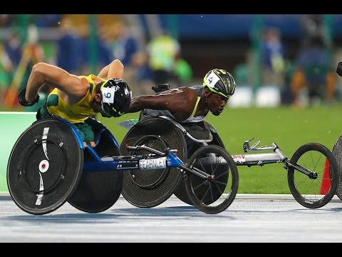 Athletics | Men's 5000m - T54 Final | Rio 2016 Paralympic Games