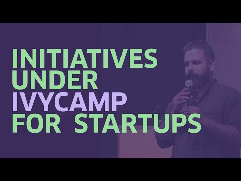 Startup Initiatives | Adhiraj Banerjee | Ivycamp | Mumbai Startup Fest'17